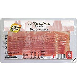 Condis Bacon ahumado 200 GRS