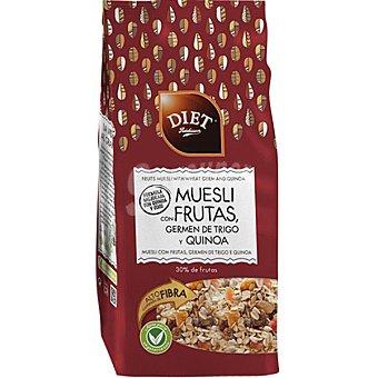 Diet Rádisson Muesli con frutas y germen de trigo envase 375 g Envase 375 g