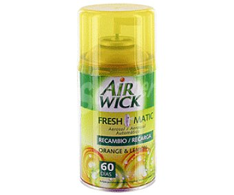 Air Wick Freshmatic Recambio Ambientador naranja/limón 1 Unidad