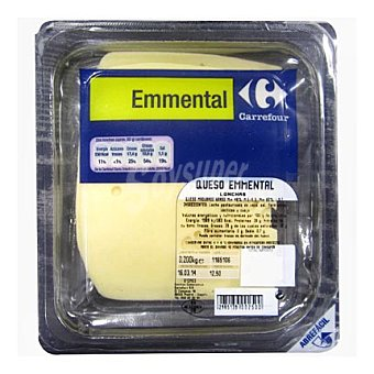 Carrefour Queso emmental light 200 g