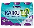 Yogur líquido con sabor natural Zero 6 x 65 g Kaikucol