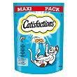Snack de salmón para gato Paquete 180 g Catisfactions