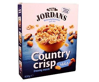 Jordans Cereales de desayuno con frutos secos country crisp Caja 400 g