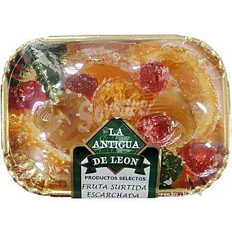 LA ANTIGUA DE LEON Fruta surtida escarchada bandeja 250 g