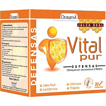 DRASANVI Vitalpur Defensas Jalea real envase 300 ml Envase 300 ml