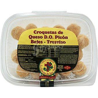 LA ERMITA DE SAN PEDRO Croquetas de queso D.O. Picón Bejes - Tresviso  Bandeja de 530 g