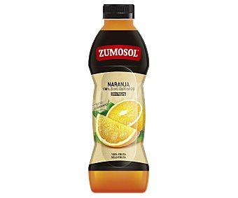 Zumosol Zumo refrigerado exprimido de naranja con pulpa Botella de 75 cl