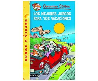 Destino Geronimo Stilton 28: Los mejores juegos para tus vacaciones, vv.aa. Género: infantil. Editorial Destino