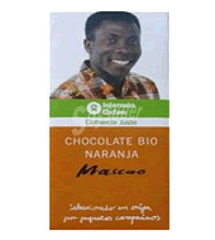 Intermón Oxfam Chocolate bio negro con naranja mascao Intermón 100 g