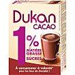 Cacao en polvo 1% de grasa y azúcares Bolsa 200 g Dukan