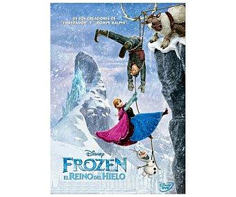 ANIMACIÓN Película Disney en Dvd Frozen, El Reino Del Hielo. Género: infantil, animación. TP