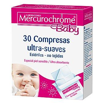Mercurochrome Gasas 30 ud