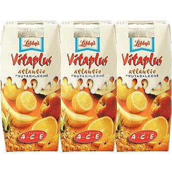 LIBBY'S VITAPLUS Atlantic Zumo de frutas + leche pack Envase 330 ml
