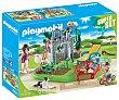 Conjunto de juego Familia en el jardín con 67 piezas, y 3 figuras incluidas, 70010 Super Set playmobil  Playmobil