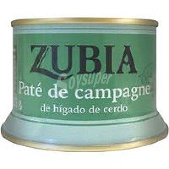 Zubia Paté de campagne lata 135 g