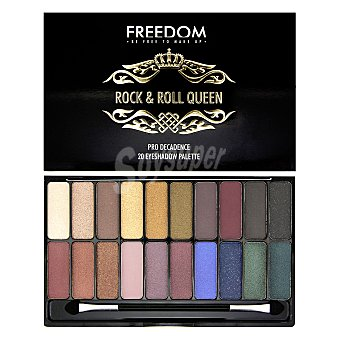 Freedom Paleta 20 sombras de ojos 1 ud