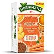 Rooibos con vegetales aromatizados (zanahoria, naranja y melocotón ), cúrcuma 30 g Hornimans