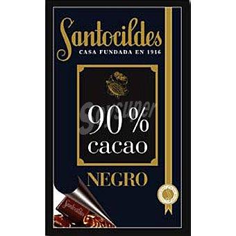 Santocildes Chocolate puro al 90% cacao 200 g