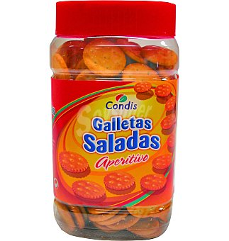 Condis Galletas aperitivo saladas 350 g