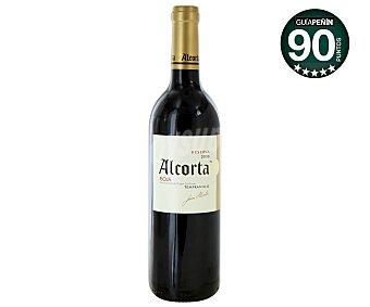 Alcorta Vino tinto reserva tempranillo con denominación de origen Rioja Botella de 75 centilitros