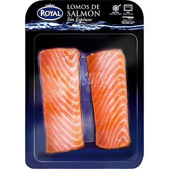 Royal Lomos de salmón sin espinas Bandeja 300 g neto escurrido
