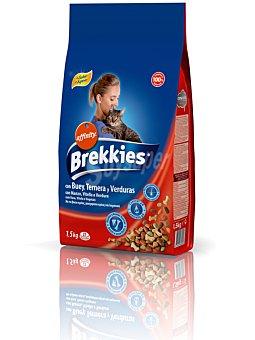 Brekkies Affinity Comida gatos buey 1.5 kg