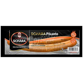 Michael Schara Salchicha Frankfurt picante Paquete 170 g (2 unidades)