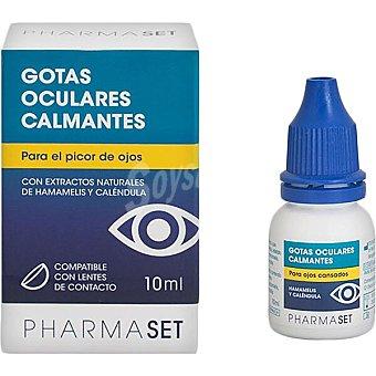 Pharmaset Gotas oculares calmantes para el Picor de Ojos con Hamamelis y Caléndula 10 ml 10 ml