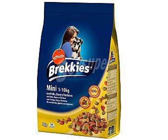 Brekkies Affinity Alimento completo rico en pollo y cereales para perros adultos mini entre 1-10 kilogramos 3 kilogramos