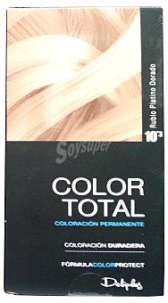 Deliplus Tinte coloracion permanente Nº 10.03 rubio platino dorado u