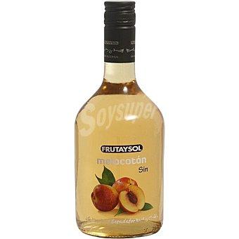 Frutaysol Licor de melocotón sin alcohol botella 75 cl botella 75 cl