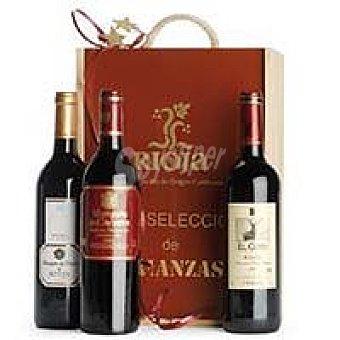 Selección Vino Tinto Crianza Rioja Pack 3x75 cl