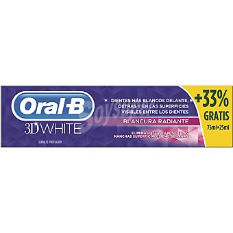 Oral-B Pasta 3D base radiante Tubo 75 ml