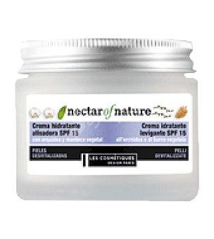 Les Cosmétiques Crema hidratante alisadora SPF 15 para pieles desvitalizadas 50 ml.