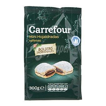 Carrefour Mini Hojaldradas rellenas de crema de cacao. 300 g
