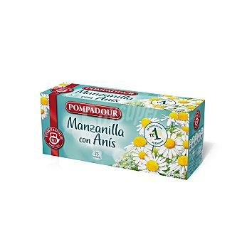 POMPADOUR Manzanilla con anís  estuche 25 sobres