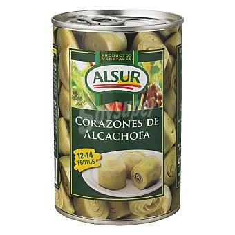 Alsur Corazones de alcachofa 12-14 piezas Lata 240 g neto escurrido