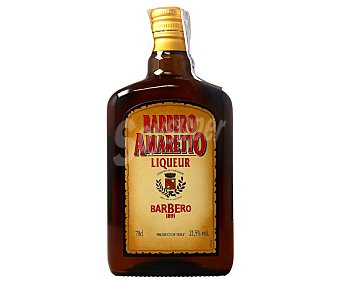 Barbero Licor de amaretto Botella de 70 cl