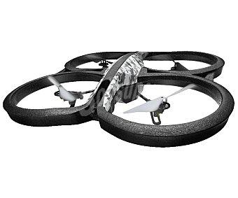 Parrot AR. 2.0 elite Drones con pilotaje intuitivo viendo el recorrido en primera persona a través de la pantalla de tu dispositivo móvil, Edition Snow, control fpv, vídeo HD, 50 metros de rango, sensor de estabilidad, permite hacer loopings, autonomía 12 minutos, conexión Wi-Fi.