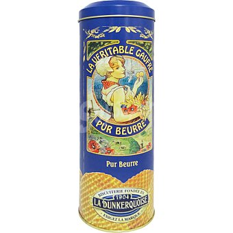 LA DUNKERQUOISE Galleta wafer de mantequilla  Lata de 400 g