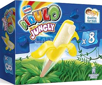 Pirulo Nestlé Helado jungly banana 8 unidades