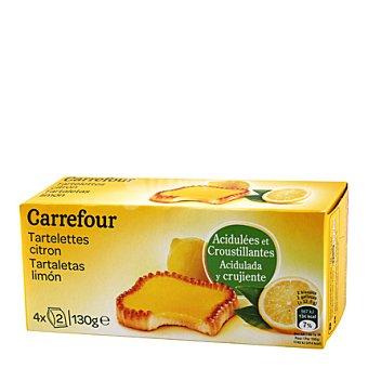 Carrefour Tartaleta de limón 130 g