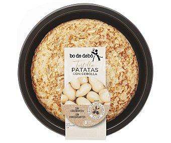Bo de Debò Tortilla fresca de patatas con cebolla, elaborada sin gluten y sin lactosa 335 g