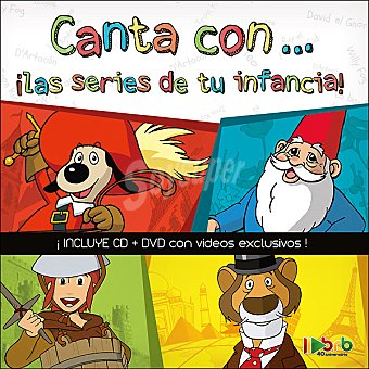 "Canta con ... ""las series de tu infancia"" incluye CD y DVD con videos exclusivos"