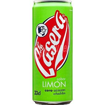 La Casera Refresco de limón con gas Lata 33 cl