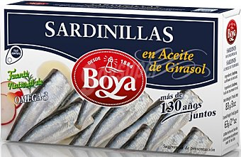 Boya Sardinilla aceite girasol 83 g
