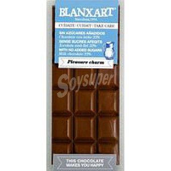 BLANXART Tableta choco leche 33% sin azucar 100 g