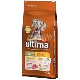 Ultima Affinity Alimento de buey&arroz para perro adulto Saco 12 kg