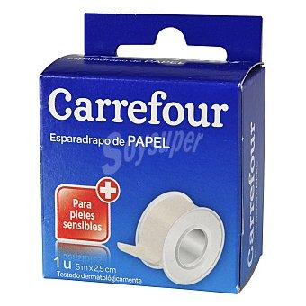 Carrefour Esparadrapo de papel para pieles sensibles 1 ud