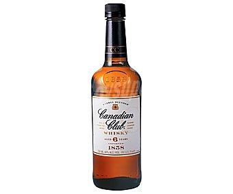 Canadian Club Whisky con 6 años de envejecimiento Botella de 1 l